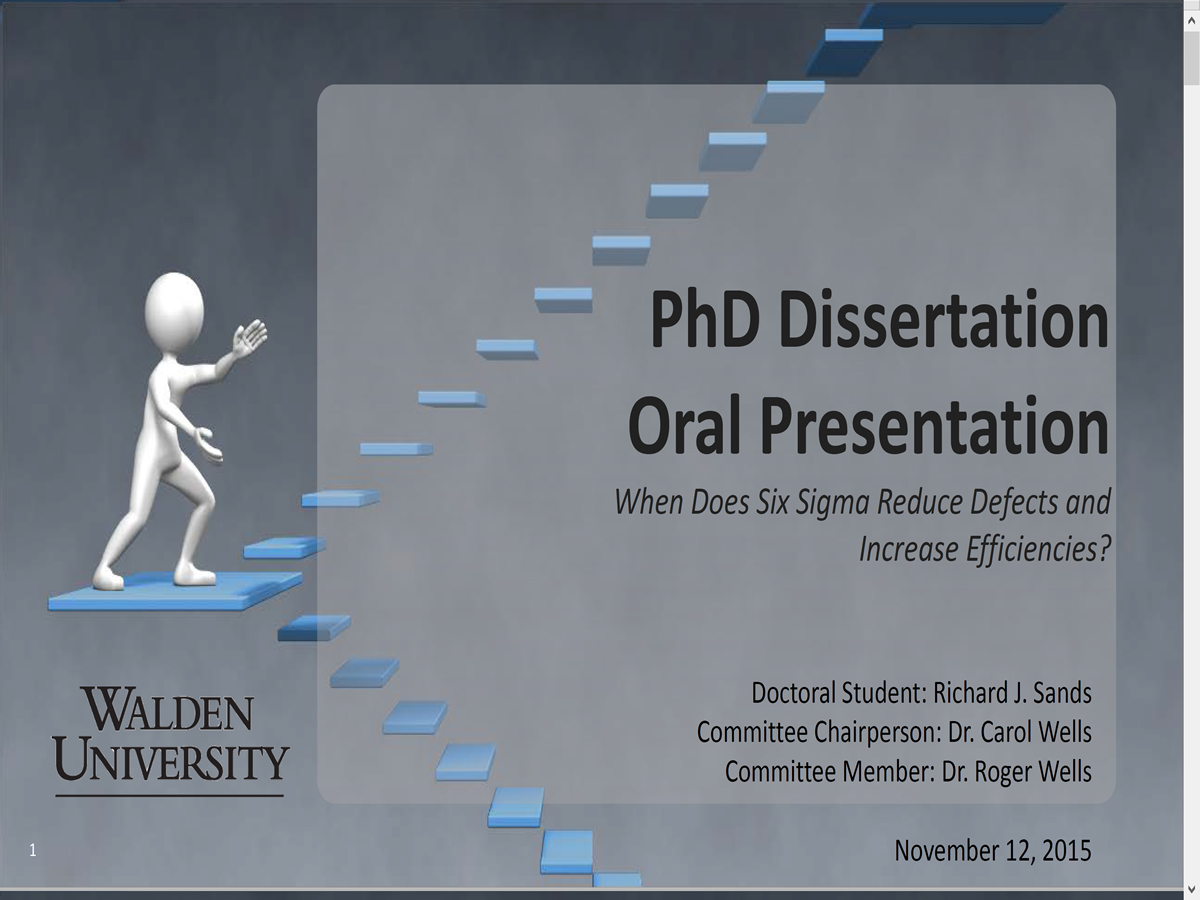 walden university dissertation oral defense